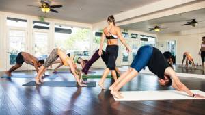 Symphony Spa and Yoga visits GNM