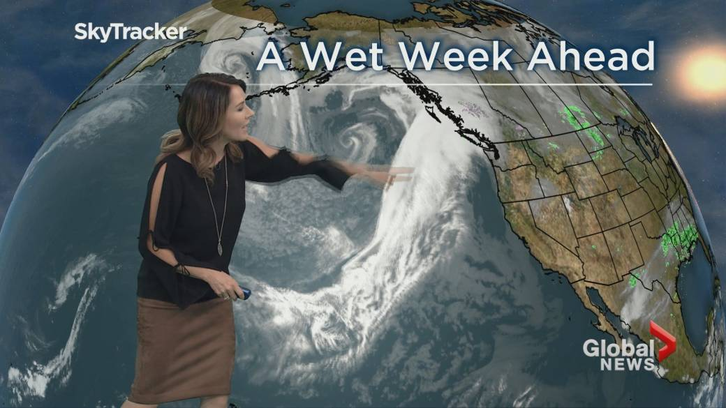Prepare to get wet: Many days of rain in the forecast for Metro Vancouver