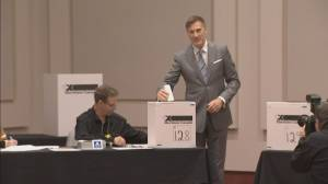 Federal Election 2019: Maxime Bernier casts his ballot