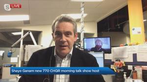 Corus Radio welcomes new provincial morning talk show host (03:35)