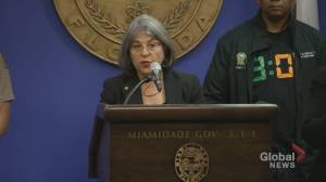 Surfside building collapse: Demolition of remaining portion of building went 'exactly as planned,' mayor says (01:42)