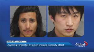 Awaiting verdict for 2 Toronto men charged in deadly attack (02:19)