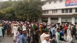 Thousands protest against 'anti-Muslim' citizenship bill in New Delhi