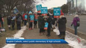 Day 2 of week filled with job action leaves thousands of students with no school in Ontario
