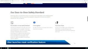Selfie safety: Uber launches new mask verification feature (01:41)