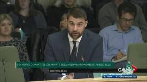 Alberta MLAs debate 'Conscience Rights' Bill 2017