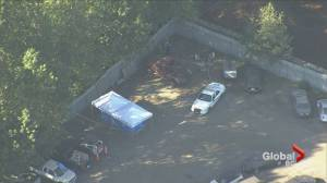 Homicide investigators probe human remains found in vehicle in Burnaby