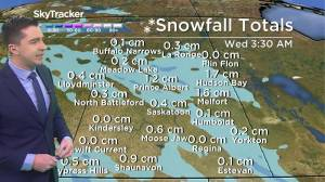 Chance of flurries: Feb. 23 Saskatchewan weather outlook (02:33)