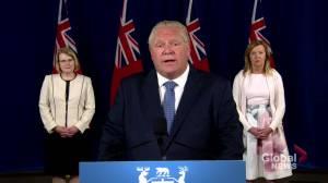 Coronavirus: Ontario introducing legislation to extend some pandemic emergency orders