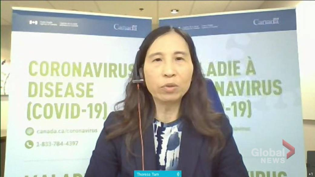 Click to play video: 'Tam warns of COVID-19 'resurgence' in fall if vaccine coverage rate in Canada isn't high enough'