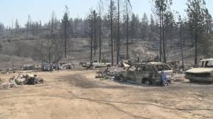 South Okanagan couple loses home to Nk'Mip Creek wildfire (02:25)