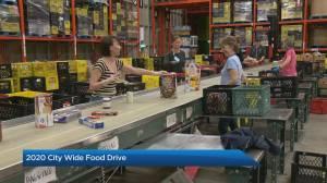Calgary Food Bank holds city-wide food drive