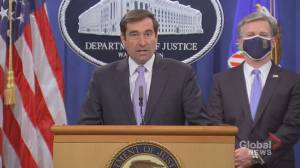DOJ charges 8 Chinese 'agents' in connection with illegal law enforcement operation called 'Fox hunt' (02:40)