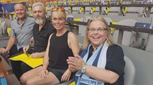 Family who lost parents to COVID-19 treated to an evening with the Whitecaps (02:10)