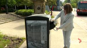 Uptown Saint John introduces new garbage cans