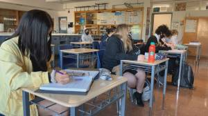 No mandatory masks in B.C. schools despite sweeping new COVID-19 orders (01:53)