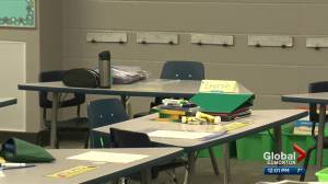 Renewed concern over rising COVID-19 cases in Alberta classrooms (02:20)
