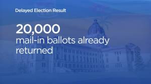 Sask. chief electoral officer says results could be delayed on election night (01:16)