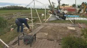 Mascouche, QC cleans up after deadly, destructive tornado (02:43)