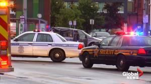 Stabbing suspect steals police car, causes fatal crash in Dayton, Ohio