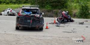 Motorcyclist suffers life-threatening injuries in Hwy. 28 crash north of Peterborough: OPP (00:47)