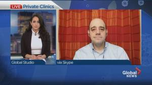 Should private health clinics share the burden of COVID-19 care (03:24)