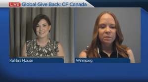 Global Give Back: Cystic Fibrosis Canada, Prairie Region