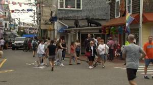 CDC warns of breakthrough COVID-19 cases after outbreak among vaccinated people at Massachusetts event (01:21)
