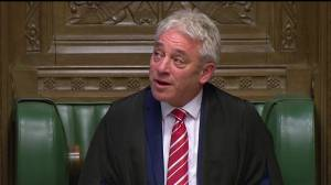 UK Speaker John Bercow delivers emotional statement on final day in role