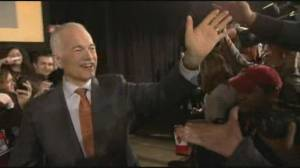 Singh honours late NDP leader Jack Layton 10 years after death (02:05)