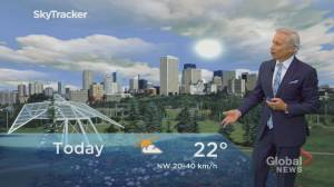 Edmonton afternoon weather forecast: Wednesday, June 10, 2020