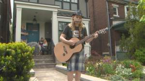 Coronavirus: 11-year-old Toronto boy hosts physically distant concerts for neighbourhood