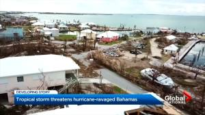 Tropical Storm Humberto threatens hurricane-ravaged Bahamas