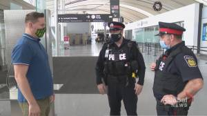 Peel Regional Police introduce body-worn cameras with live stream technology (02:11)