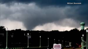 Tornadoes rip through US northeast, flooding puts cities underwater as remnants of Ida linger (02:27)