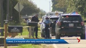 1 dead, 2 in hospital after home invasion in Hamilton (01:55)