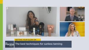 Sunless tanning tips to achieve the perfect summer glow (05:39)