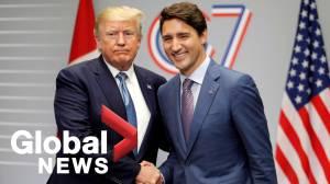 Trump, Trudeau speak ahead of G7 meeting focused on trade, economic issues