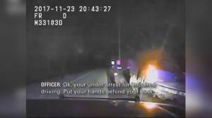 York Regional Police release 911 call, video of impaired driver arrest that led to conviction
