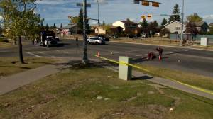 2 pedestrians struck in northeast hit and run: Calgary police (01:29)