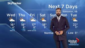 Edmonton Weather Forecast: Sept. 17