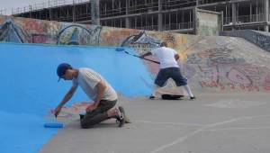 "Peterborough skatepark receives ""long overdue"" maintenance (02:09)"