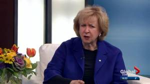 Former Prime Minister Kim Campbell on federal election results