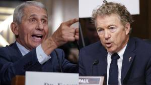 Fauci, Sen. Rand Paul accuse each other of lying in heated debate over COVID-19 origins (02:45)