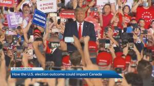 Trump vs Biden: How the U.S. election outcome could impact Canada (04:27)