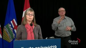 'Our current situation is grim': Alberta record 1,155 COVID-19 cases, 11 deaths on Friday (00:59)