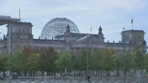German election: Parties negotiate coalition to determine Merkel's successor (01:50)