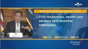 Coronavirus outbreak: New York expands COVID-19 testing eligibility standards