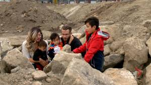 Calgary family enjoys 'extraordinary adventure' after finding fossils (01:51)