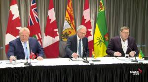 Premiers Moe, Higgs and Ford announce investment towards SMRs to combat climate change (03:57)